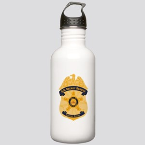 XXX Secret Service Badge Stainless Water Bottle 1.