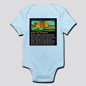 Anton the Armadillo Infant Bodysuit