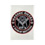 Masonic Bikers Rectangle Magnet (100 pack)