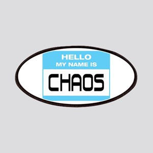 Chaos Name Tag Patches