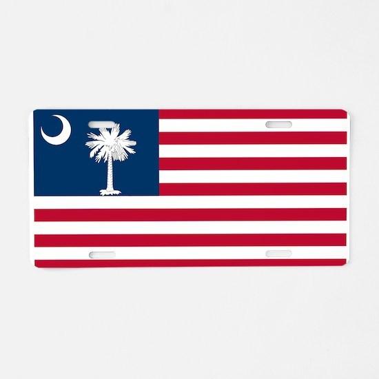 SCUSA.png Aluminum License Plate