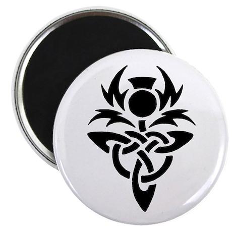 Tribal Thistle Magnet