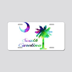 SC PT MC Aluminum License Plate