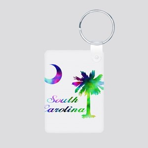 SC PT MC Aluminum Photo Keychain