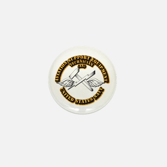 Navy - Rate - AS Mini Button