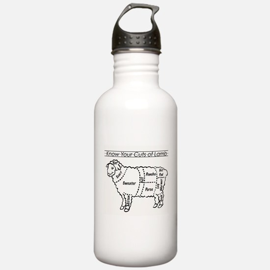 Know Your Cuts of Lamb Water Bottle