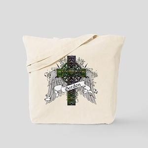 Gordon Tartan Cross Tote Bag