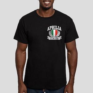 Aprilia Italia Men's Fitted T-Shirt (dark)