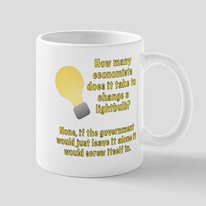 Economist Lightbulb joke Mug