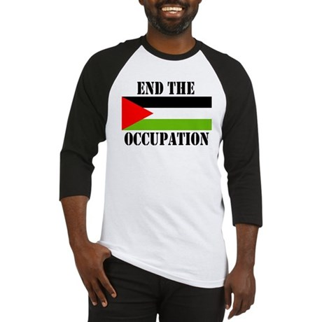 End the Occupation - Baseball Jersey