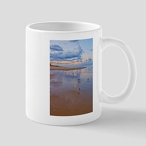 Ocean Birds at Sunrise Mug