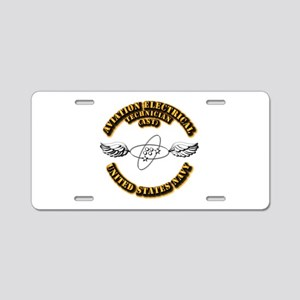 Navy - Rate - AST Aluminum License Plate