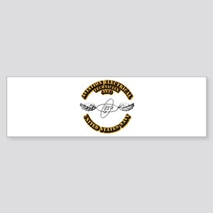 Navy - Rate - AST Sticker (Bumper)