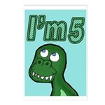 Im 5 T-rex Postcards (Package of 8)