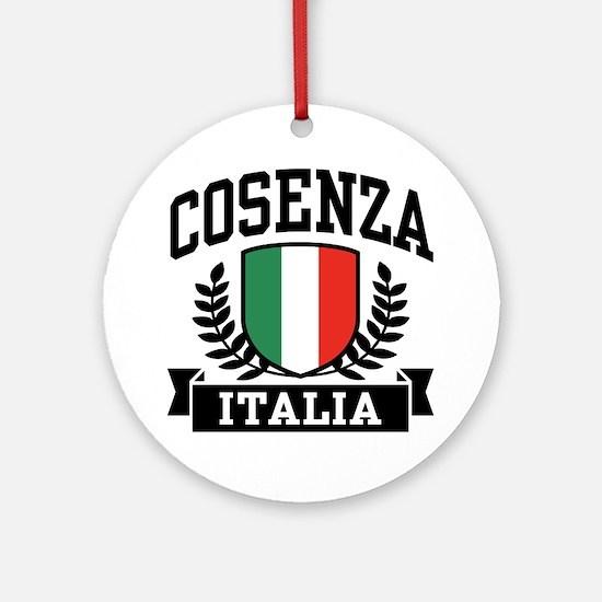 Cosenza Italia Ornament (Round)