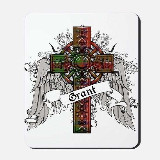 Grant Tartan Cross Mousepad