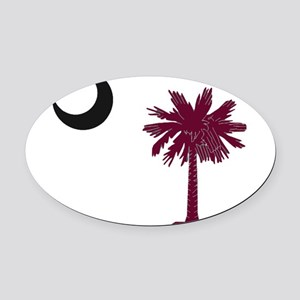 USC Oval Car Magnet