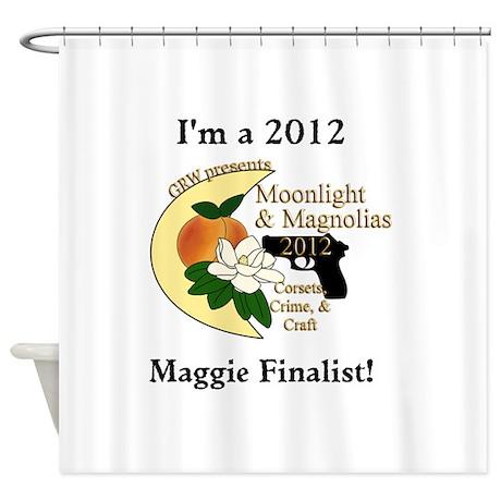 Maggie Finalist Peach Moon Shower Curtain