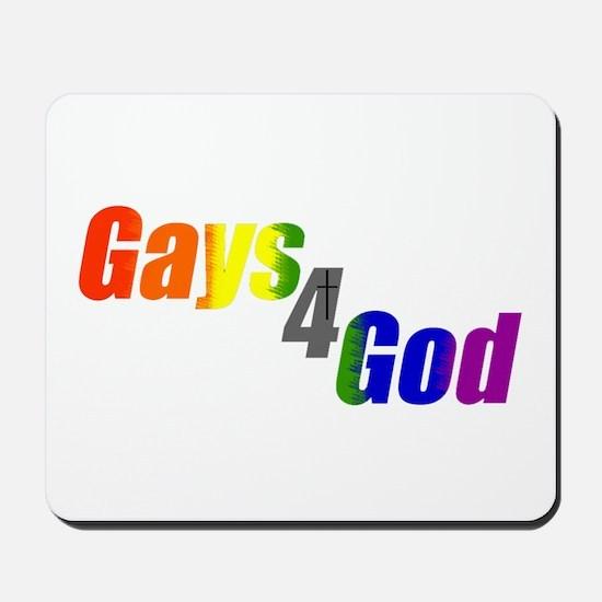 Gays4God Mousepad