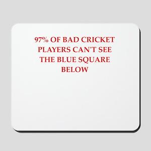 cricket joke Mousepad