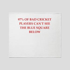 cricket joke Throw Blanket