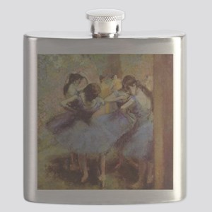 Degas Blue Dancers Flask