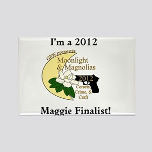 Maggie Finalist Moon Magnolias Rectangle Magnet