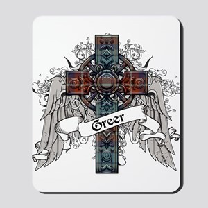 Greer Tartan Cross Mousepad