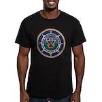 USS NEWPORT NEWS Men's Fitted T-Shirt (dark)