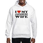 I Love My Japanese Wife Hooded Sweatshirt