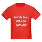 Trust Me Spock, Red Is Not Your Color (W) Kids Dar