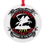 Round Holiday Ornament