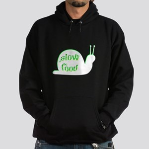 Slow Food Snail Hoodie (dark)