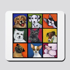 Maggie's Angels Dogs Mousepad