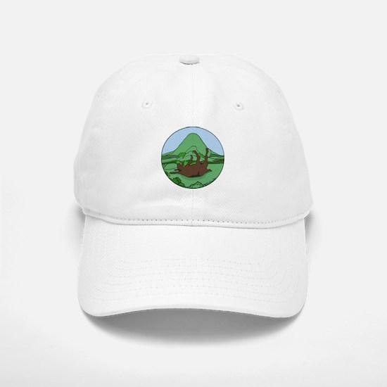 Simple South Mountain MGR logo Baseball Baseball Cap
