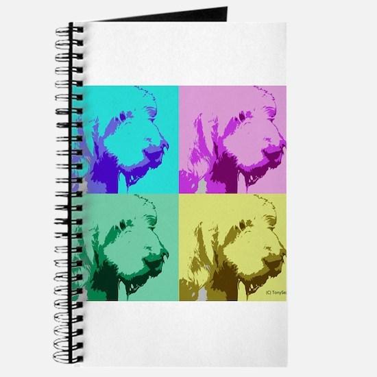 Spinone a la Warhol 2 Journal