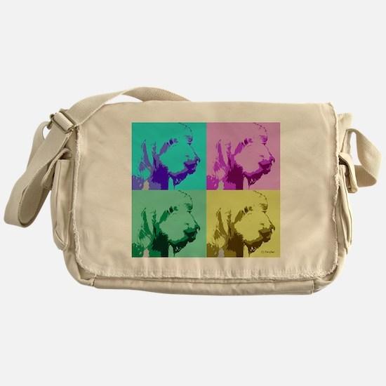 Spinone a la Warhol 2 Messenger Bag