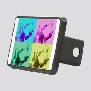 Spinone a la Warhol 2 Rectangular Hitch Cover