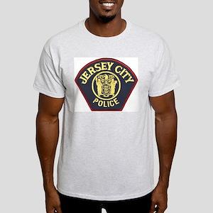 Jersey City Police Ash Grey T-Shirt