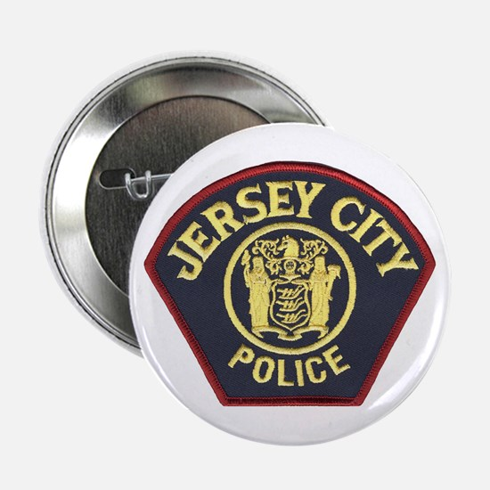 Jersey City Police Button