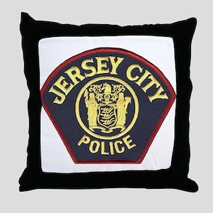 Jersey City Police Throw Pillow