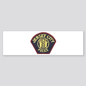 Jersey City Police Bumper Sticker