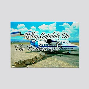 Pilots Humor Magnet, Copilots Do Walkaround