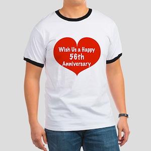 Wish us a Happy 56th Anniversary Ringer T