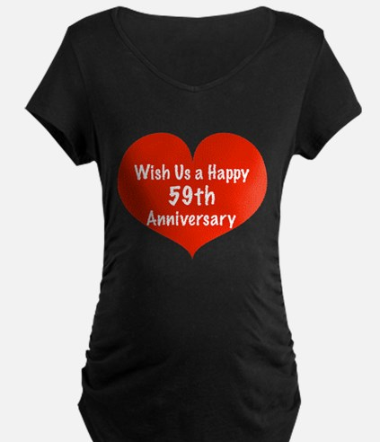 Wish us a Happy 59th Anniversary T-Shirt