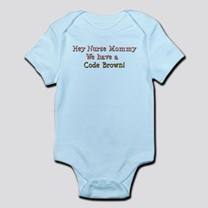 nursemommy_codebrown1 Body Suit
