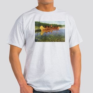 Great Explorers by Remington T-Shirt