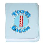 Team bacon 1 baby blanket