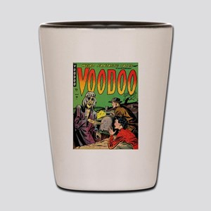 Voodoo #1 Classic Comic Book Cover Shot Glass