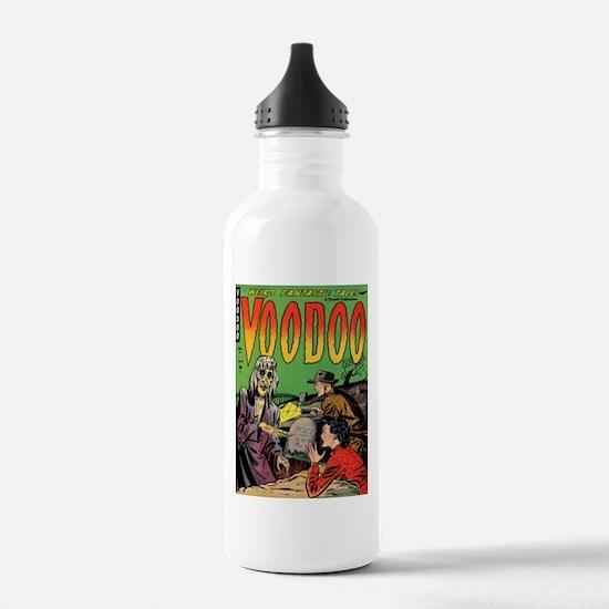Voodoo #1 Classic Comic Book Cover Water Bottle